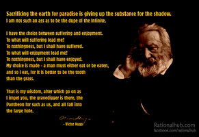Victor Hugo on afterlife.. by rationalhub