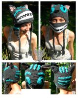 Cheshire Cat: Movie Version by TheCrochetDragon