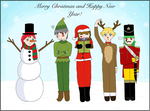Merry Christmas and Happy New Year 2013/2014 by EllyGirl2809