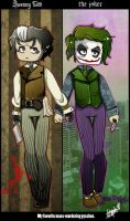 The Joker and Sweeney Todd by freesh00t