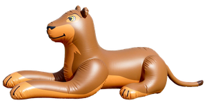 Inflatable Merek Lion by SeaWorldBelieveShamu