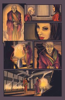 Witchblade: Oni Sample Page 03 by TheThirdG