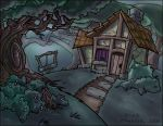 A house in the woods. by Lugubre