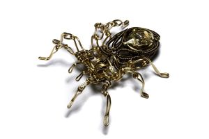 Steampunk spider sculpture 3 by CatherinetteRings