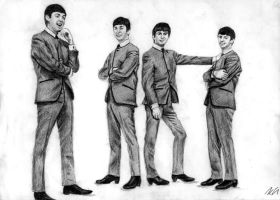 Beatles by Csillipepper