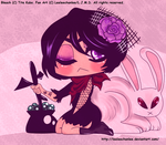 -Rukia Chibi Witch. by Leeleechanlee