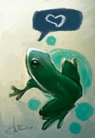 Frog Tribute by thailur