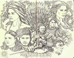 Game of Thrones by aj2sun