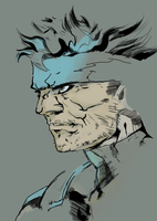 Solid Snake by tramposin