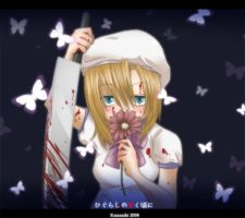 Higurashi: Butterflys by Kamaniki