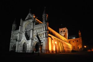 St. Albans Abbey, April 2010 by Jakari