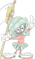 Marvin the Martian by pinbeak