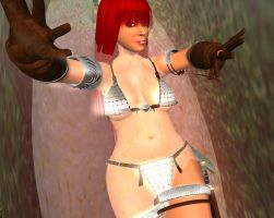 Red Sonja Venus Fly Trap 9 by kaolumbia
