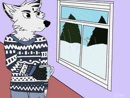 PC - Cold outside, warm inside by ZokuChoco