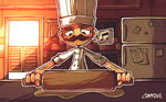 642 TTD: A Rolling Pin (#1) by Comraxe