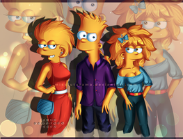 Simpsons Kids !2! by MissFuturama