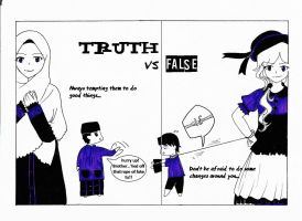 Al-Haq vs Al-Batil (eng ver) by Luvvyllashine