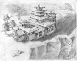 monastery by lordtree