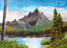 559 Mountain Lake by mengenstrom