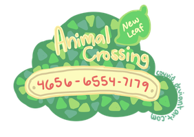3DS Friend Code by coyvid