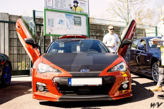 Subaru BRZ Exterior by wouter-vph