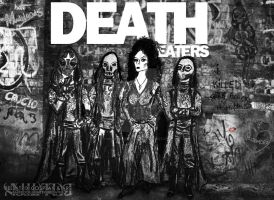 Death Eaters in Ramones style! by snowyblackrose