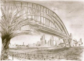 Sydney Harbour Bridge 3 by Abaez40