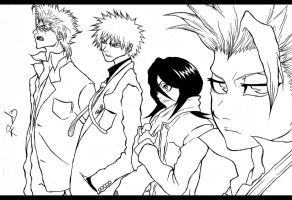 The Bleach Crew by Randazzle100