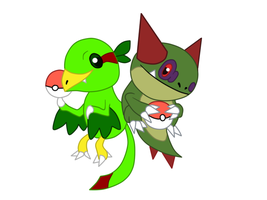 Fan Art- Raplant and Cactoad by T-Reqs