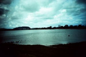 Lomo LC-A+ clouds and water by taurus511