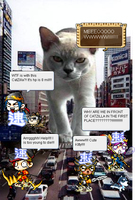 Catzilla x MapleStory by Deadly-Sky-Dragons