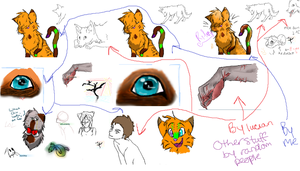 Iscribble junk pile by MarbleMyst