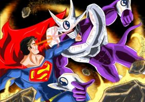 Superman Vs Cooler by adamantis