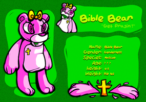 Bible Bear by Glucoseguts