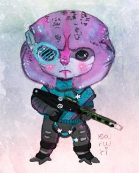 Chibi Jaal by SpectralFairy