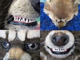 Rocket Raccoon - Detail Shots by LobitaWorks