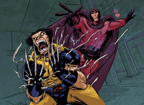 wolvie VS mag by greenestreet
