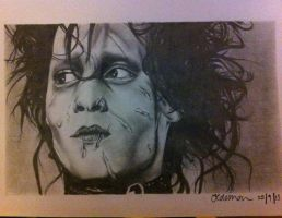 Edward Scissorhands by jesscoleman94