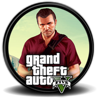 Grand Theft Auto (GTA) V Michael - Icon by Blagoicons