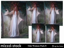 Oak Woman Pack 8 by mizzd-stock