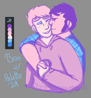 brim w/ palette 29 shading by The-Artistic-Umbreon