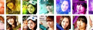 Girls' Generation Icon set 01 by Flames2Dust