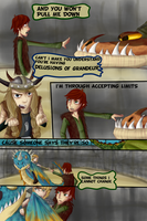Defying Gravity Page II by Golden-Trio
