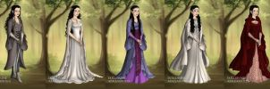Arwen's Wardrobe from Fellowship of the Ring by LadyAquanine73551