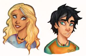 Percy And Annabeth by Buurd