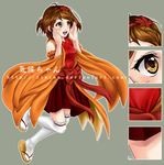 Anime Club Mascot~ Kikou-chan { FLYER PREVIEW } by LinYan