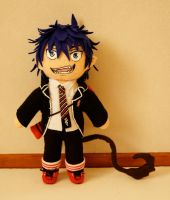 Plush Rin Okumura by FlyingRabbitMonkey