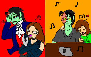 Phantom of the Opera: Past Girls Vs. Modern Girls by DominotheFembot