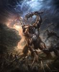 God of War III- Cover Artwork by andyparkart