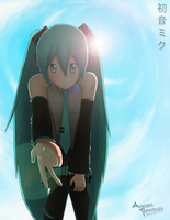 Need a hand bro? [Hatsune Miku] by Riki-to